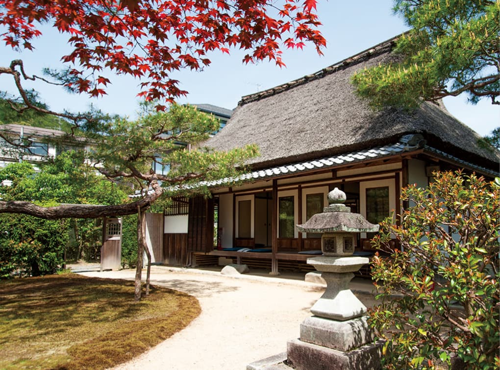 National Historic Site: The Former Retreat of Tomomi Iwakura and the Taigaku Library