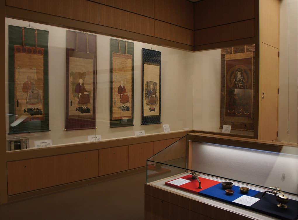 Sennyu-ji Temple Museum Shinsho-den