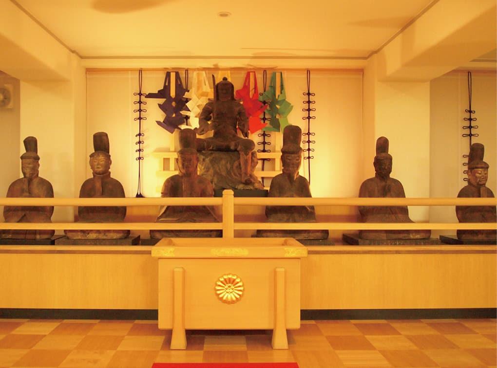 写真:大将軍八神社方徳殿