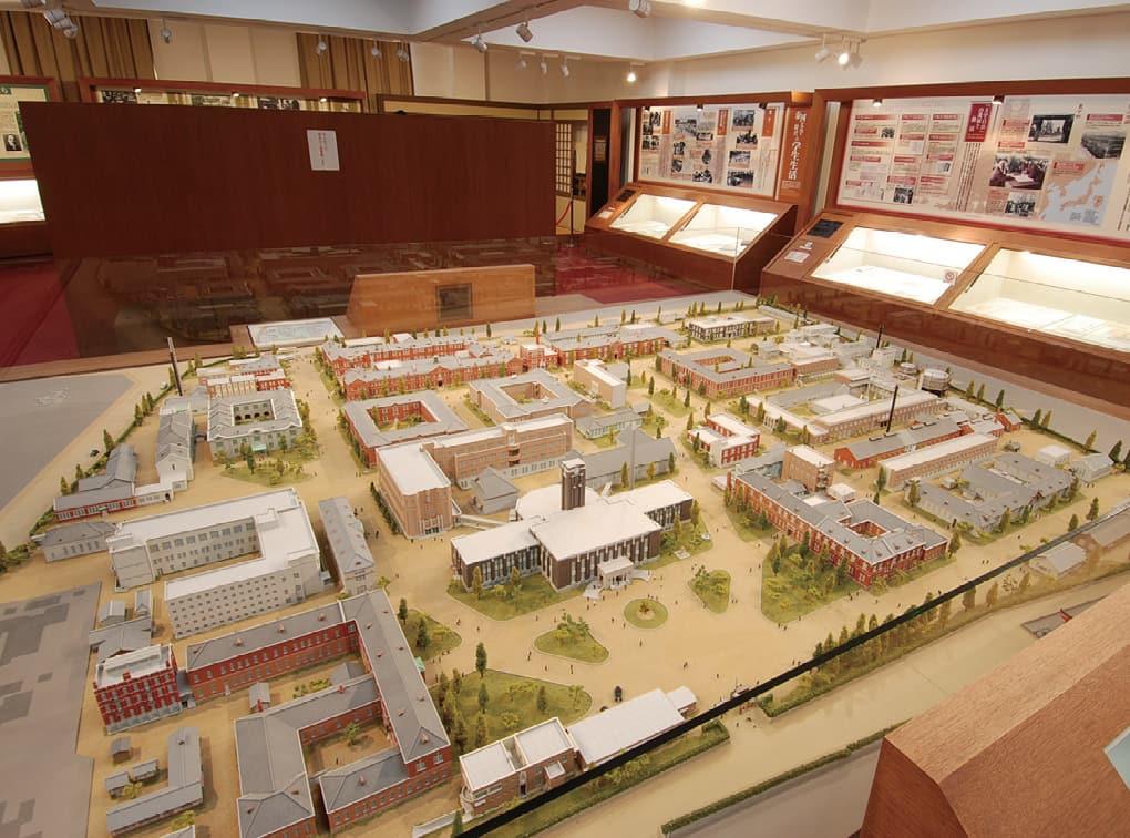 写真:京都大学 百周年時計台記念館 歴史展示室