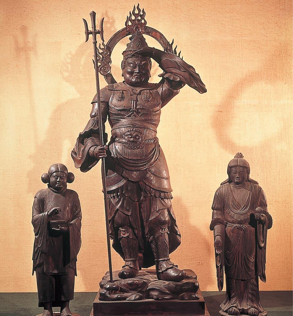写真:鞍馬山霊宝殿