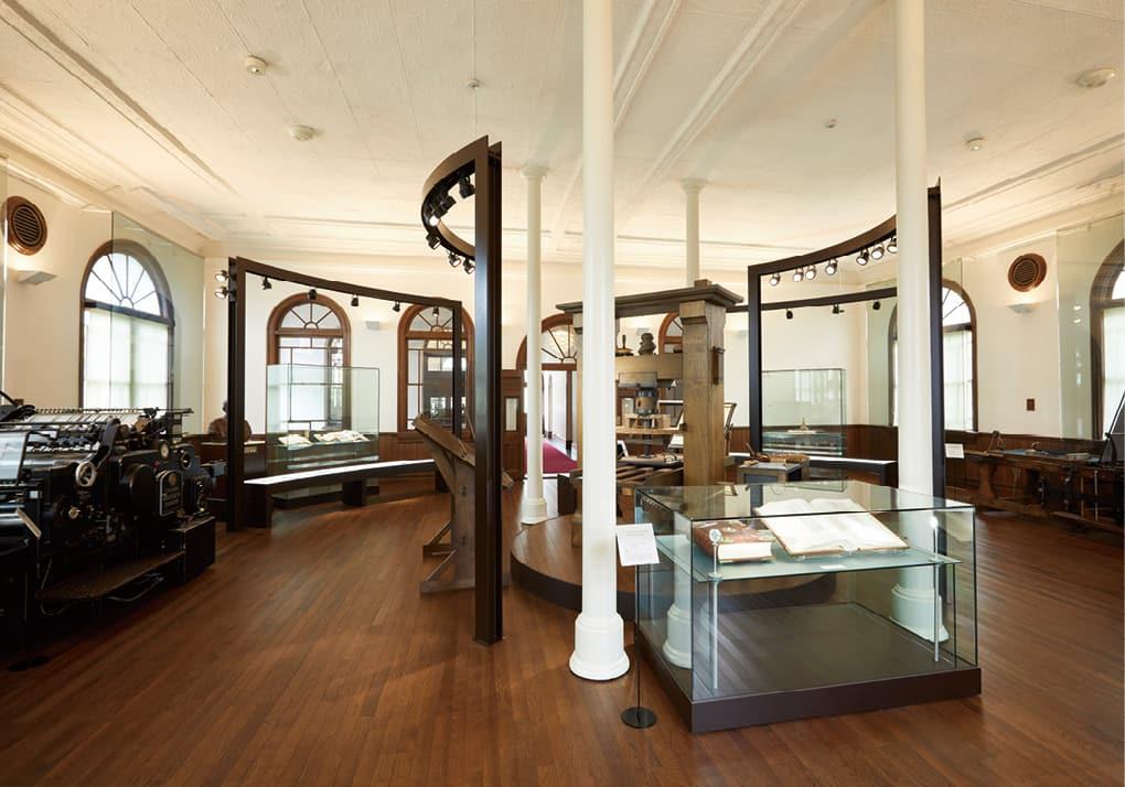 写真:ニッシャ印刷歴史館