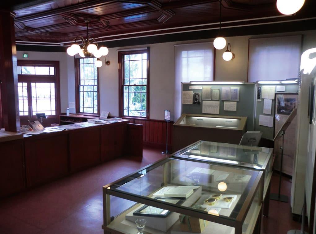 写真:柳原銀行記念資料館(京都市人権資料展示施設)