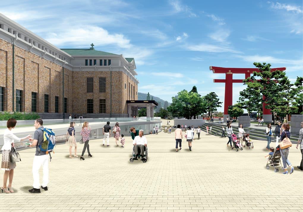 写真:京都市美術館(通称:京都市京セラ美術館)