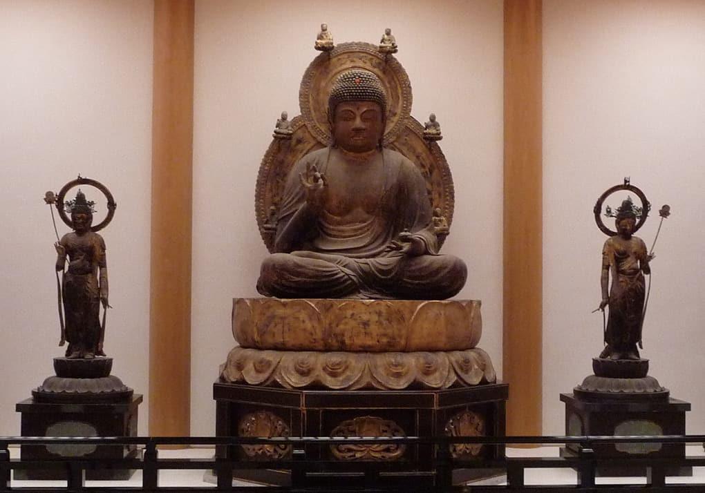 写真:醍醐寺霊宝館