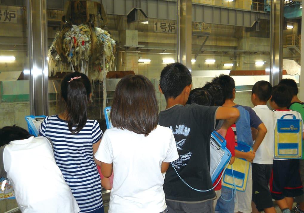 写真:環境教育学習施設 京都市北部クリーンセンター(京都市北部資源リサイクルセンター)