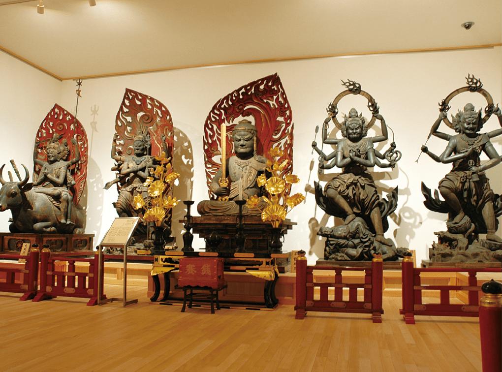 写真:大覚寺霊宝館