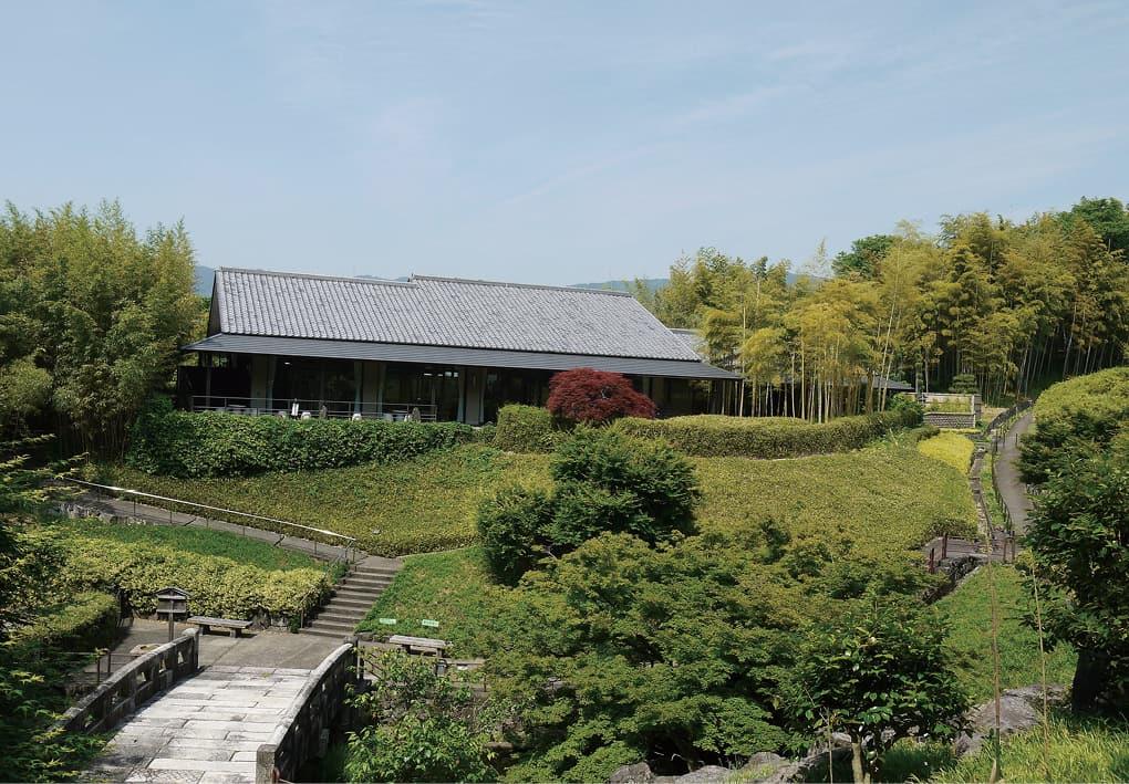 写真:竹の資料館(京都市洛西竹林公園)