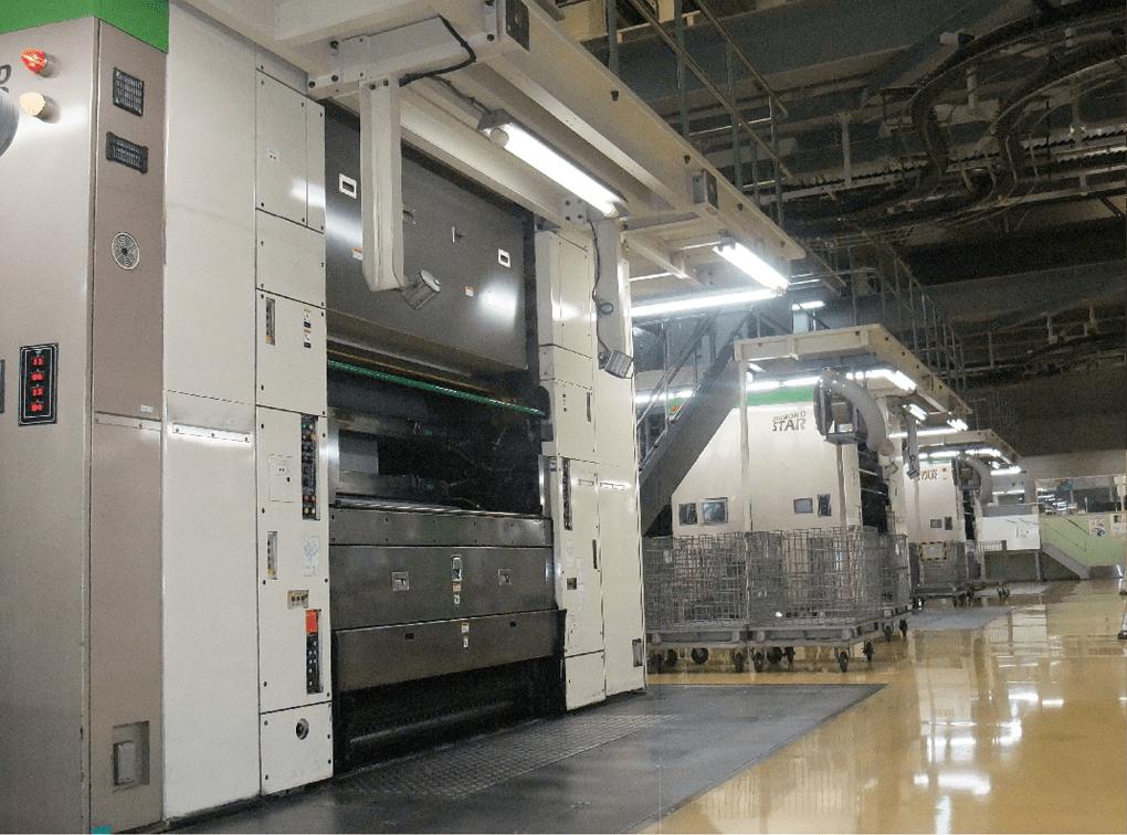 写真:朝日新聞京都工場