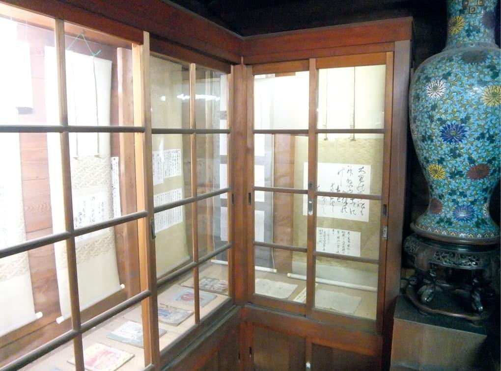 写真:乃木神社宝物館
