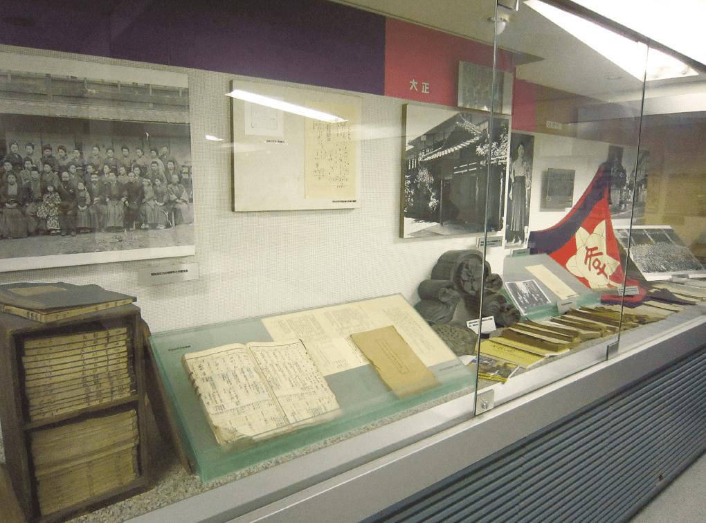 写真:京都橘中学校・高等学校資料館