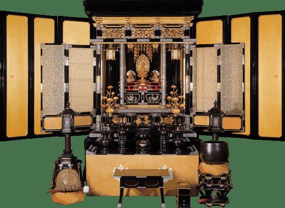写真中尊寺型の金仏壇