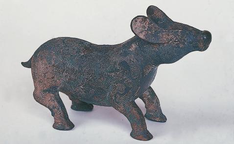 写真重要美術品「犠牛」戦国前期 山西省